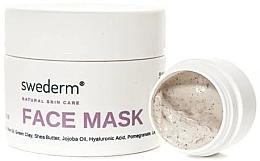 Парфюмерия и Козметика Маска за лице 4 в 1 - Swederm Face Mask (мини)
