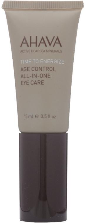 Околоочен крем - Ahava Time To Energize Age Control All In One Eye Care — снимка N2