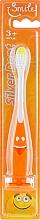 Парфюмерия и Козметика Детска четка за зъби, оранжева - Modum Silver Dent Smile Kid 889M