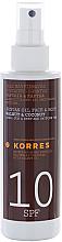 Парфюми, Парфюмерия, козметика Кокосово масло за тен - Korres Clear Sunscreen Body Face Walnut Coconut Oil SPF10