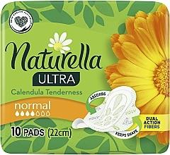 Парфюмерия и Козметика Дамски превръзки, 10 бр. - Naturella Ultra Calendula Normal