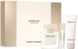 Парфюми, Парфюмерия, козметика Narciso Rodriguez Narciso - Комплект (edp/90ml + edp/10ml + b/lot/75ml)