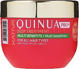 Парфюмерия и Козметика Интензивна маска за боядисана коса - Kativa Quinua PRO Deep Treatment