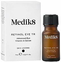 Парфюмерия и Козметика Нощен околоочен серум с ретинол - Medik8 Retinol Eye TR