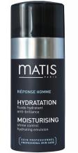 Парфюми, Парфюмерия, козметика Емулсия, контролираща омазнения блясък - Matis Reponse Homme Moisturising Shine Control Hydrating Emulsion