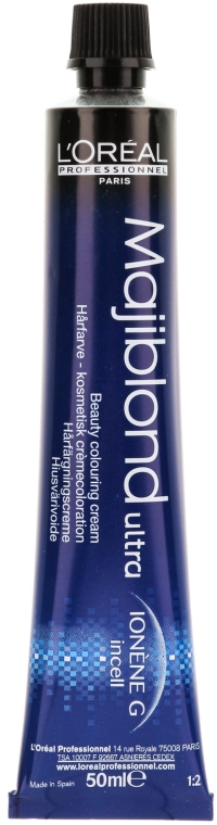 Боя за коса - L'Oreal Professionnel Majiblond Ultra (без включен оксидант) — снимка N2