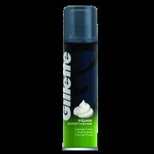 """Парфюми, Парфюмерия, козметика Пяна за бръснене """"Лимон"""" - Gillette Classic Lemon Lime Shave Foam for Men"""