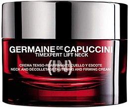 Парфюмерия и Козметика Крем за шия и деколте със стягащ ефект - Germaine de Capuccini TimExpert Lift (In)