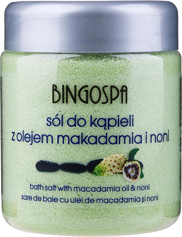 Полинезийски соли за вана с йод - BingoSpa Polynesian Bath Salt With Iodine