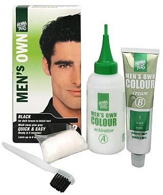 Боя за коса за мъже - Henna Plus Men Own Hair Colouring — снимка N2
