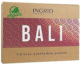 Парфюмерия и Козметика Палитра сенки за очи - Ingrid Cosmetics Bali Eyeshadows Palette