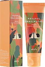 Парфюмерия и Козметика Крем за лице със секрет от охлюв - Skin79 Natural Snail Mucus Cream