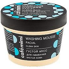 """Парфюмерия и Козметика Измиващ мус за лице """"Чиста кожа"""" - Cafe Mimi Washing Mousse Facial Clean Skin"""
