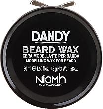 Парфюмерия и Козметика Моделиращ восък за брада и мустаци - Niamh Hairconcept Dandy Beard Wax Modelling