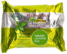 """Парфюмерия и Козметика Органичен сапун с аромат на мента """"Green Clay"""" - Ma Provence Nature Soap"""