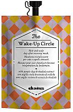 Парфюмерия и Козметика Антистресова и ребалансираща маска за коса - Davines Wake-Up Circle Hair Mask