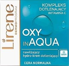 Парфюми, Парфюмерия, козметика Хидратиращ дневен крем за лице с витамин С - Lirene Dermo Program Oxy In Aqua Vitamin C