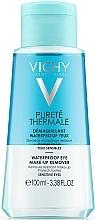 2в1 лосион за почистване на грим - Vichy Purete Thermale Waterproof Eye Make-Up Remover — снимка N1