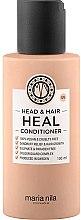 Парфюмерия и Козметика Балсам против пърхот - Maria Nila Head & Hair Heal Conditioner