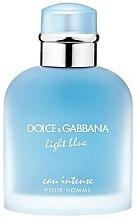 Парфюми, Парфюмерия, козметика Dolce & Gabbana Light Blue Eau Intense Pour Homme - Парфюмна вода (тестер с капачка)