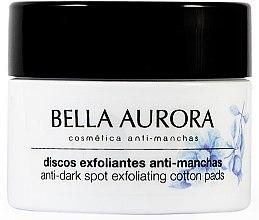 Парфюми, Парфюмерия, козметика Антипигментиращи почистващи тампони за лице - Bella Aurora Anti-Dark-Spot Exfoliation Pads
