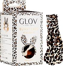 Парфюмерия и Козметика Диадема с леопардови ушички - Glov Spa Bunny Ears Headband Safari Edition