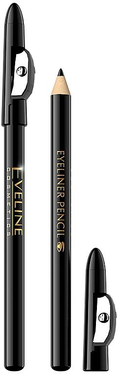 Молив за очи с острилка - Eveline Cosmetics Eyeliner Pencil