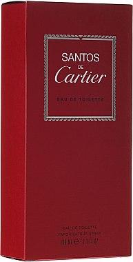 Cartier Santos For Men - Тоалетна вода — снимка N1
