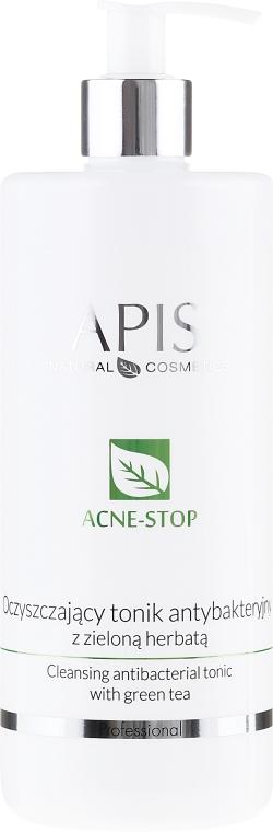 Тоник за лице с екстракт от зелен чай - APIS Professional Cleansing Antibacterial Tonic