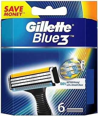 Сменяеми ножчета за самобръсначка - Gillette Blue 3 — снимка N1