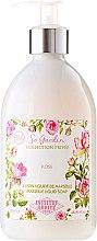 Парфюми, Парфюмерия, козметика Течен сапун с масло от кокос и аромат на роза - Institut Karite So Garden Collection Privee Rose Marseille Liquid Soap