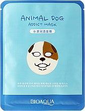 """Парфюми, Парфюмерия, козметика Маска за лице от плат """"Куче"""" - Bioaqua Animal Dog Addict Mask"""