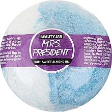 Парфюмерия и Козметика Бомбичка за вана с бадемово масло - Beauty Jar MRS. President