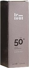 Парфюмерия и Козметика Слънцезащитен крем за лице SPF 50 - Le Tout Facial Sun Protect