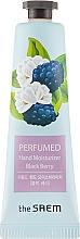 """Парфюмен крем за ръце """"Къпина"""" - The Saem Perfumed Black Berry Hand Moisturizer — снимка N1"""