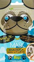 """Парфюми, Парфюмерия, козметика Памучна детокс-маска """"Мопс"""" - Bielenda Crazy Mask 3D Mops"""