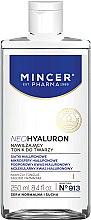 Парфюмерия и Козметика Овлажняващ тоник за лице - Mincer Pharma Neo Hyaluron Tonic 913