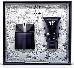 Парфюмерия и Козметика Mugler Alien Man Gift Set - Подаръчен комплект (тоал. вода/50ml+душ гел/50ml)
