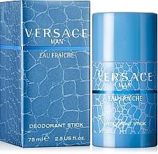 Парфюмерия и Козметика Versace Man Eau Fraiche - Стик дезодорант