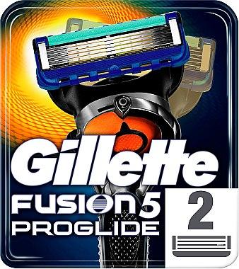 Сменяеми ножчета за бръснене, 2 бр. - Gillette Fusion ProGlide — снимка N1