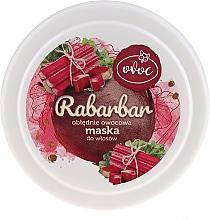 Маска за коса с екстракт от ревен, плодове и масло от шеа - Ovoc Rabarbar Mask — снимка N2