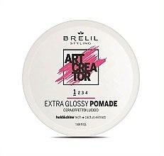 Парфюми, Парфюмерия, козметика Моделираща паста за коса за ултра блясък - Brelil Art Creator Extra Glossy Pomade