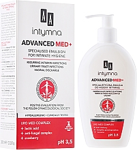 Парфюмерия и Козметика Емулсия за интимна хигиена - AA Advanced Med+