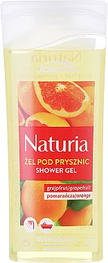 "Душ гел ""Грейпфрут и портокал"" - Joanna Naturia Grapefruit and Orange Shower Gel — снимка N1"