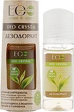 """Парфюми, Парфюмерия, козметика Дезодорант за тяло """"Дъбова кора и зелен чай"""" - ECO Laboratorie Deo Crystal"""
