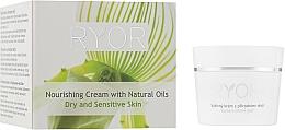 Парфюмерия и Козметика Подхранващ крем за лице с натурални масла - Ryor Face Care