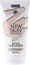Почистващо мляко за лице - Beauty Formulas New Skin Glycolic Facial Cleanser — снимка N1