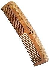 Парфюми, Парфюмерия, козметика Гребен за коса - Lass Naturals IHT9 Neem Wood Comb