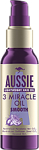 Парфюмерия и Козметика Масло за коса - Aussie 3 Miracle Smooth Oil
