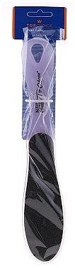 Двустранна пемза за крака 70921, лилава - Top Choice